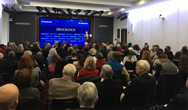 Brookings Institution Screening